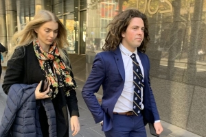 Rape charge rider got partner to stalk alleged victim, court papers say