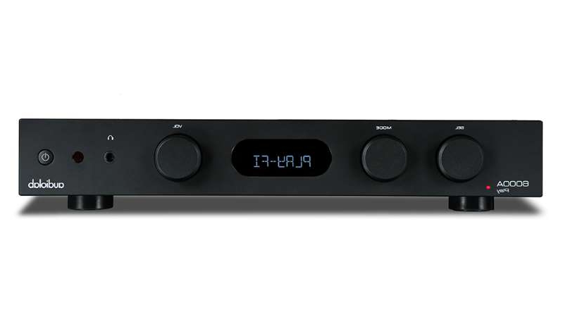 a close up of a device: Audiolab's 6000A Play streaming amplifier is a fusion of two five-star products