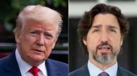 Justin Trudeau, Donald Trump are posing for a picture: Prime Minister Justin Trudeau said Wednesday that discussions are ongoing whether or not he will attend this year's G7 summit hosted by U.S. President Donald Trump.