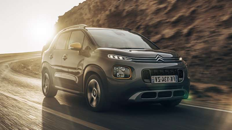a car driving on a road: Citroen C3 Aircross Rip Curl special edition launched