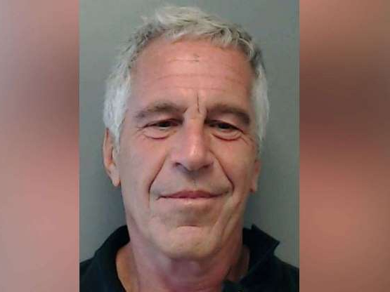 Jeffrey Epstein looking at the camera: Jeffrey Epstein in a 2013 photo released by the Florida Department of Law Enforcement.