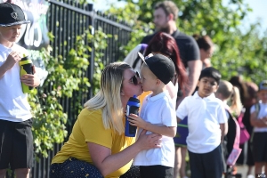 Chaos at school gates as some children are TURNED AWAY because teachers 'aren't ready for them' and others haven't opened at all despite up to two million heading back to classes in England today