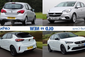 Vauxhall Corsa: old vs new