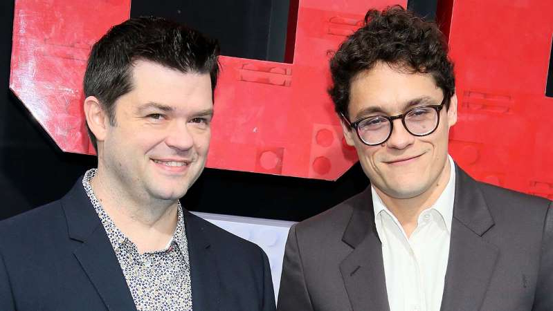 Phil Lord, Christopher Miller are posing for a picture: Getting booted off Solo: A Star Wars Story led Lord and Miller, both 44, to Spider-Man: Into the Spider-Verse, which grossed $375 million and won the animated feature Oscar. They're now developing a web of sequels and spinoffs for Sony TV, as well as Sony feature The Mitchells vs. the Machines, and in August signed a first-look deal with Universal. A TOP TALENT (NOT ON YOUR PLATFORM) WHOM YOU ADMIRE Both: