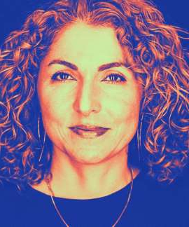 Anousheh Ansari posing for the camera