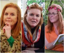 Sarah Ferguson, Sarah Ferguson, Sarah Ferguson posing for the camera: Sarah Ferguson's Youtube channel features A-list guests, stories a-plenty... and some seriously unique outfits. We take a look at all of her most interesting looks as she films in lockdown.