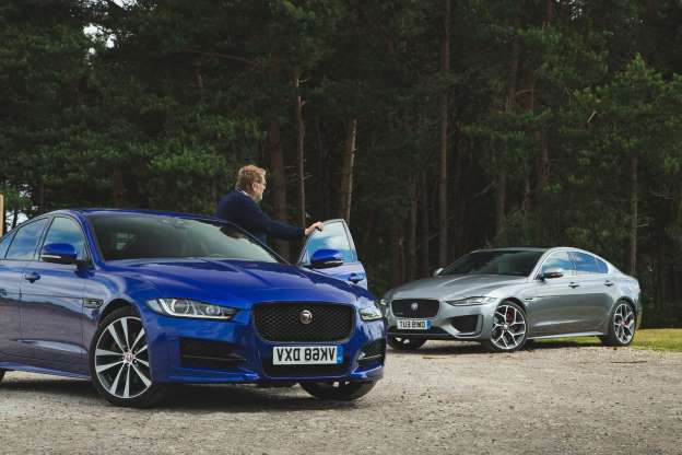 a blue car parked in a parking lot: Steve Cropley: Big praise for a small engine