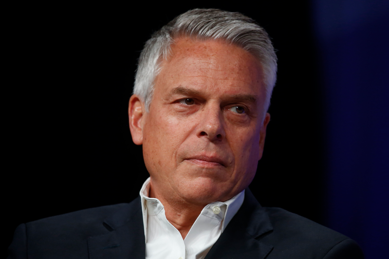 Jon Huntsman wearing a suit and tie: Former Utah Gov. Jon Huntsman.