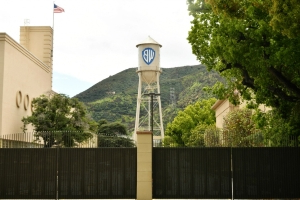 Suspect Crashes Through Warner Bros. Lot Gate During Police Chase