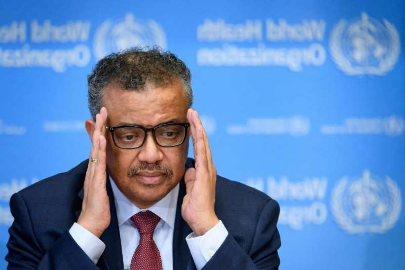 Tedros Adhanom Ghebreyesus wearing a suit and tie: Should the United States withdraw from the WTO?