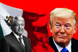The Bizarre Bromance Between Trump and Mexico's President