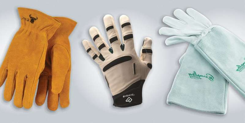 a pair of sneakers: From soft and grippy to thick and protective, there is a glove for every task.