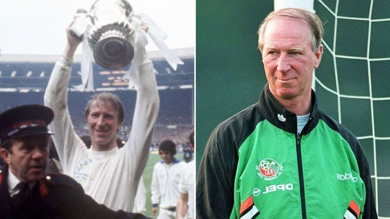 Jack Charlton, Jack Charlton posing for the camera: Jack Charlton was Republic of Ireland manager, long-time Leeds United player and on England's World Cup-winning team