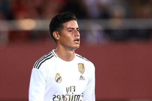 Zidane unsure if James will play for Real Madrid again
