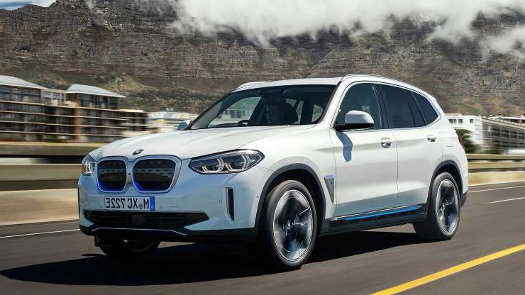 Slide 1 of 79: BMW iX3 (2020)