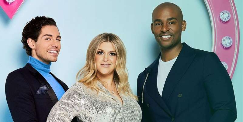Paul Carrick Brunson, Anna Williamson posing for the camera: Celebs Go Dating has unveils Chloe Ferry, Pete Wicks and more for the socially-distanced new series titled Celebs Go Virtual Dating.
