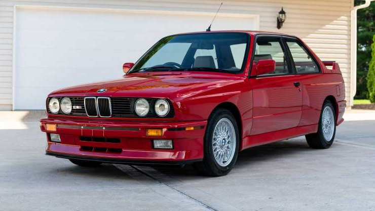 Slide 1 of 135: 1988 BMW M3 sold at auction