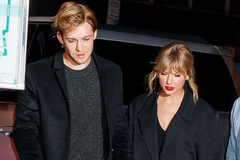 Taylor Swift et al. posing for the camera: The internet is rife with speculation that Taylor Swift's boyfriend Joe Alwyn may be the mysterious songwriter William Bowery credited on her new album 'Folklore.'