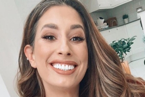Stacey Solomon's rainbow tracksuit is out-of-this-world
