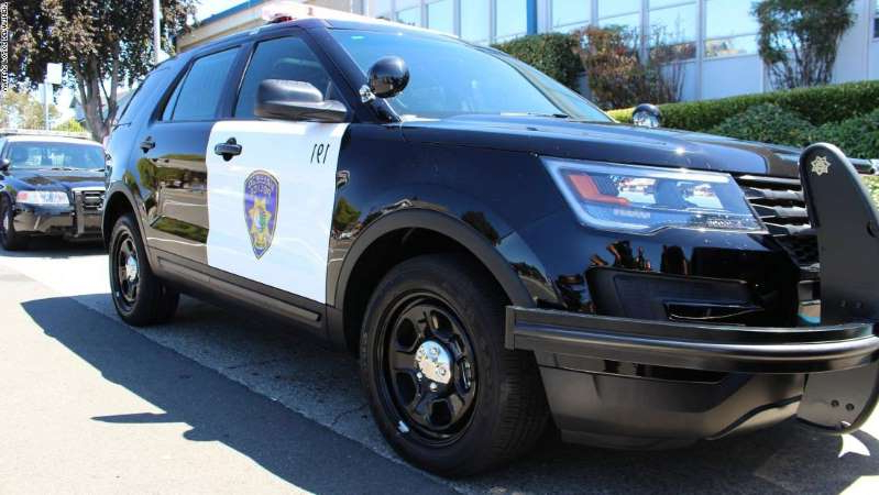 a car parked on the side of a road: A 19 year veteran of the Vallejo Police Department alleges he was fired after pointing out unethical conduct among his former colleagues.
