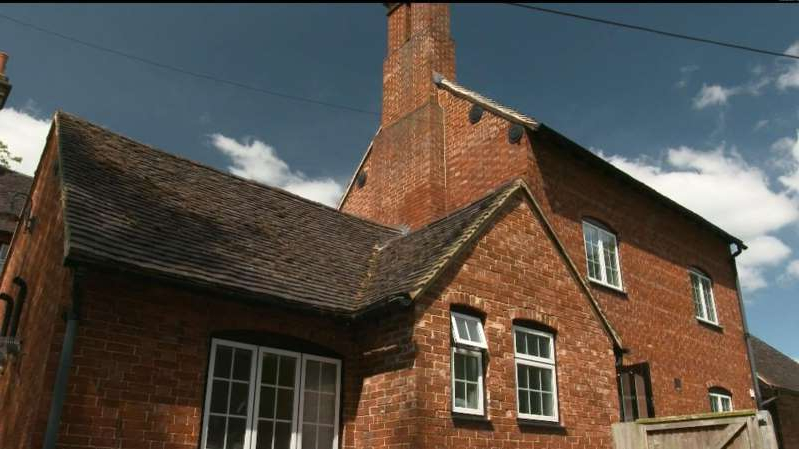an old brick building: The property had been in Ron Ryall's family for 60 years