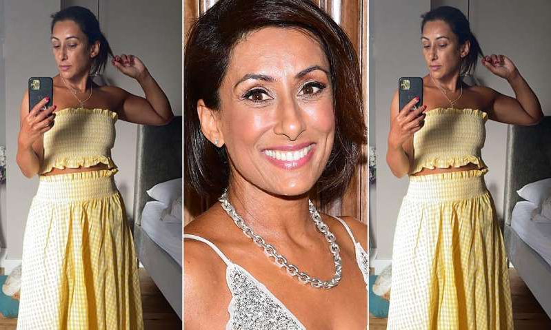 Saira Khan, Saira Khan, Saira Khan are posing for a picture: Hello! Magazine