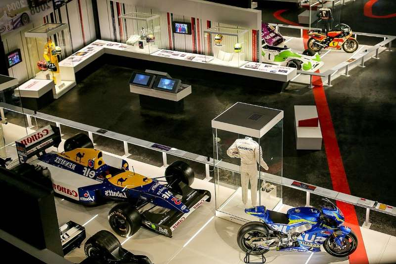 a close up of a toy store: How you can visit Silverstone amid British GP closure