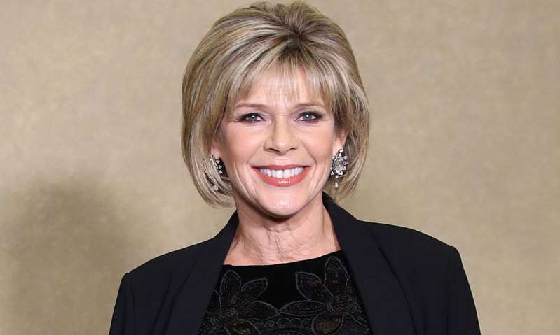 Ruth Langsford posing for the camera: Hello! Magazine