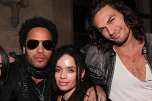 Lenny Kravitz Wishes Jason Mamoa a Happy Birthday -- And Fans Praise Lisa Bonet for Her Great Taste in Men