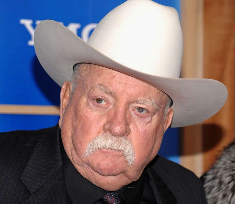 Wilford Brimley wearing a hat