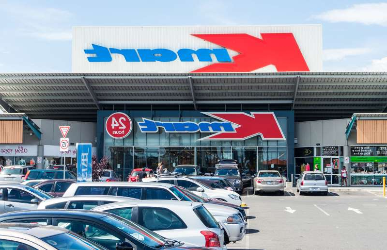 Kmart store in Burwood in suburban Melbourne.