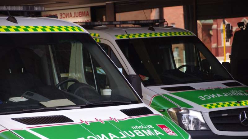 St John Ambulance claims ramping rates have increased threefold over the last five years. (ABC News: Andrew O'Connor)