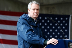 Bill de Blasio Is Using New York's Murder Rate to Demagogue