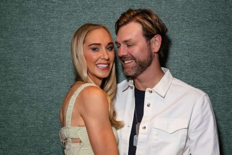 Brian McFadden, Danielle Parkinson posing for a picture: OK! 1249 Brian McFadden and Danielle Parkinson are positive they'll have a baby despite a failed IVF attempt and miscarriage