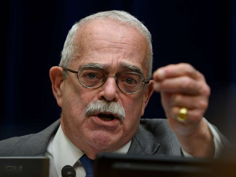 Gerry Connolly wearing glasses and smiling at the camera: Gerry Connolly, a Virginia Democrat who chairs a House Oversight panel on government operations says he fears President Donald Trump and his staff could withhold crucial documents if Joe Biden wins the White House. Photo by ANDREW CABALLERO-REYNOLDS/AFP via Getty Images