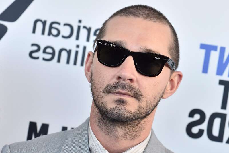 Shia LaBeouf wearing sunglasses posing for the camera: Shia LaBeouf. Photo: CP Images