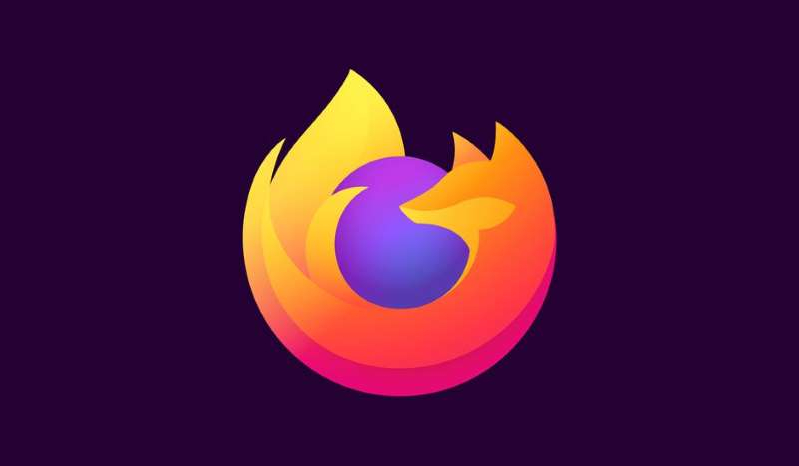 a close up of a logo: Mozilla