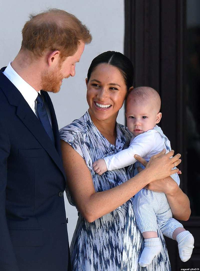 Meghan Markle et al. looking at the camera: The Sussexes have been living in the Montecito home for six weeks