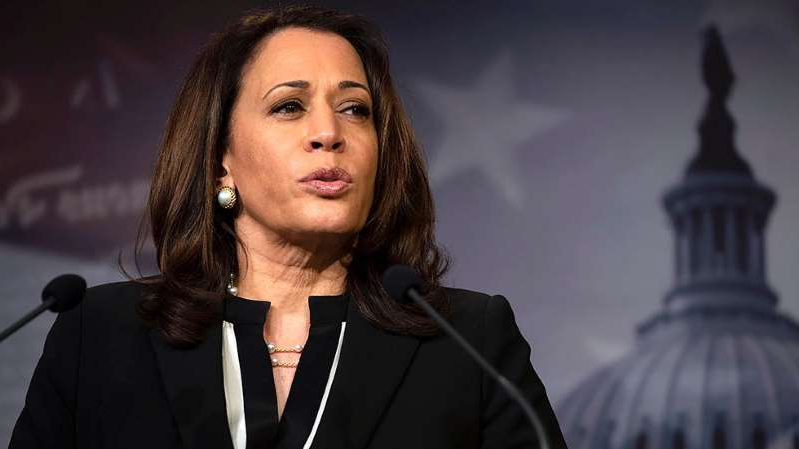 Kamala Harris wearing a suit and tie: 'We have her back' memo cleverly wards off attacks on Kamala Harris