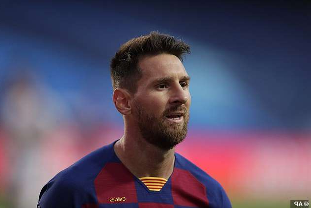a close up of a man in a blue shirt: Barcelona are reportedly going to demand clubs pay £631m release clause for Lionel Messi