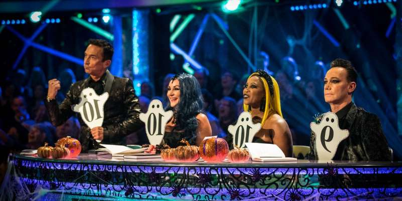 Craig Revel Horwood et al. on a stage: The BBC has responded to speculation about Bruno's involvement.