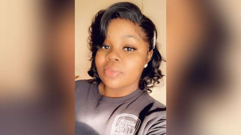 a person posing for the camera: Breonna Taylor, 26, was shot and killed by Louisville, Kentucky, police officers after they allegedly executed a search warrant of the wrong home.