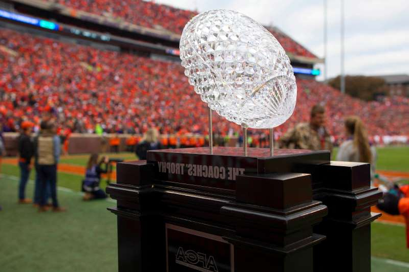 Big Ten teams are now in play to capture the AFCA Coaches Trophy.