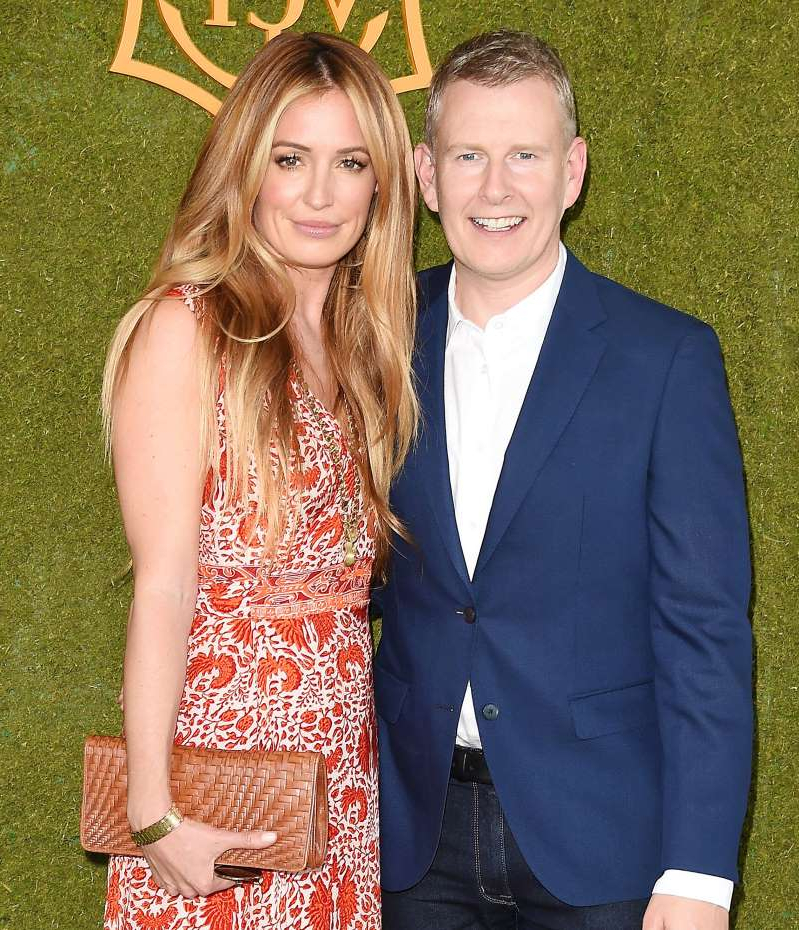 Patrick Kielty, Cat Deeley posing for a picture: Jeffrey Mayer/WireImage