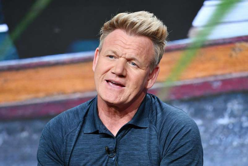 Gordon Ramsay looking at the camera: Amy Sussman/Getty
