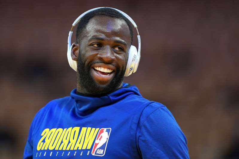 a close up of Draymond Green in a blue shirt: Draymond Green has won three champioships, and he has a favorite.