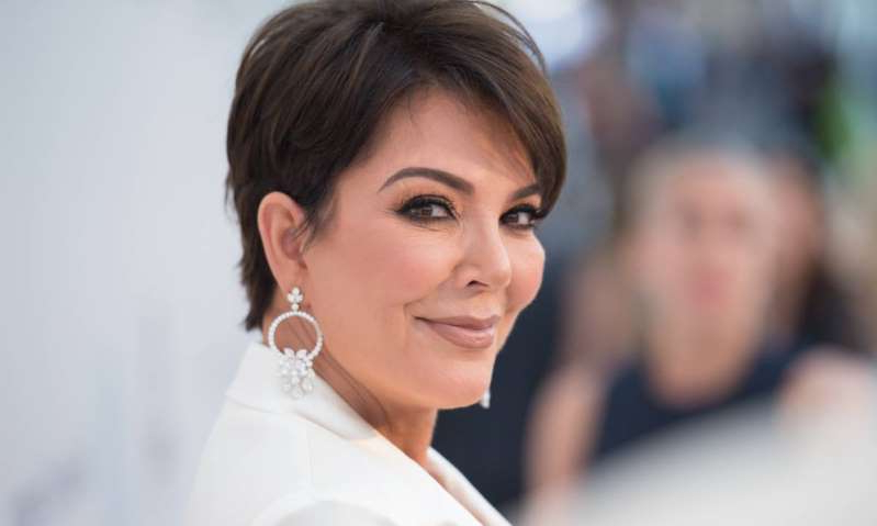 Kris Jenner looking at the camera: Hello! Magazine