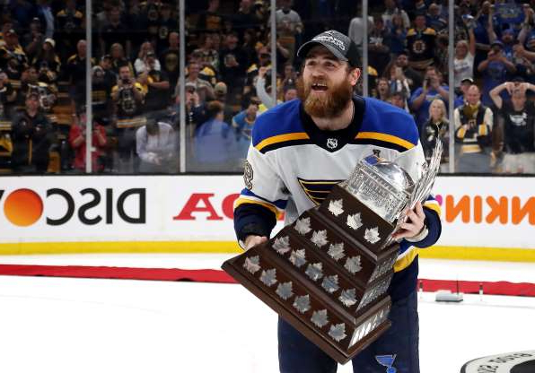 Slide 1 of 13: 2019: Ryan O'Reilly, St. Louis Blues