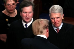 This is Trump's list of replacements for RBG