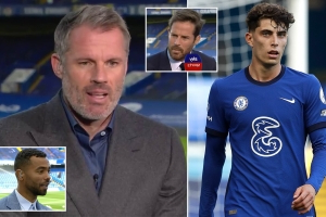 Jamie Carragher questions if Kai Havertz can fit in Chelsea's team